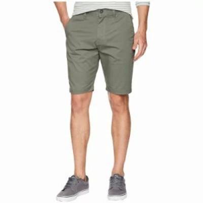 ボルコム ショートパンツ Frickin Modern Stretch Chino Shorts Dusty Green