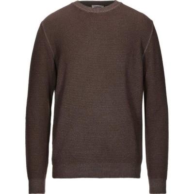 ヘリテイジ HERITAGE メンズ ニット・セーター トップス sweater Brown