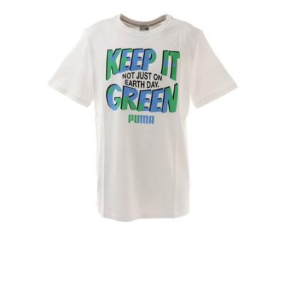プーマ(PUMA)GRAPHIC Tシャツ キーモーメント 530911 02 WHT