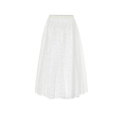 REDV レディース ロング・マキシ丈スカート スカート redvalentino floral lace maxi skirt Latte