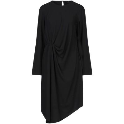 COMPAGNIA ITALIANA ミニワンピース&ドレス ブラック 46 ポリエステル 90% / ポリウレタン 10% ミニワンピース&ドレス