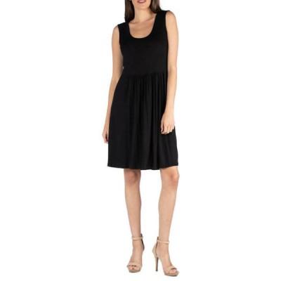 24セブンコンフォート レディース ワンピース トップス Women's Sleeveless A Line Dress