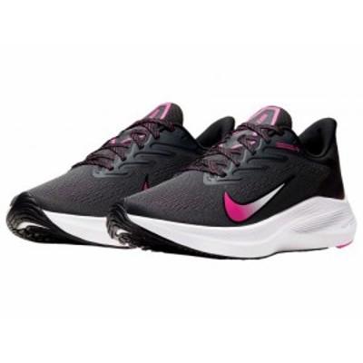 Nike ナイキ レディース 女性用 シューズ 靴 スニーカー 運動靴 Zoom Winflo 7 Dark Smoke Grey/Black/Fire Pink/White【送料無料】