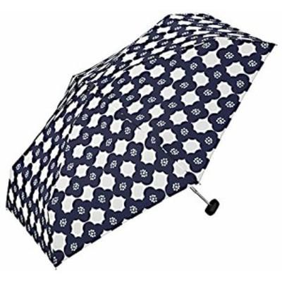 ワールドパーティー(Wpc.) 雨傘 折りたたみ傘 ネイビー 50cm レディース クラッチバッグタイプ カメリア ミニ 436-155 NV