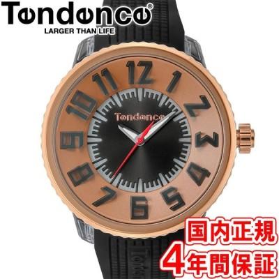 600円クーポン有り!テンデンス 腕時計 フラッシュ 7色LED搭載 50mm メンズ レディース ピンクゴールド/ブラック TY532002