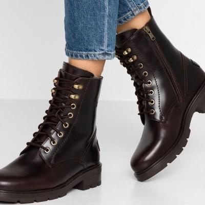 レディース 靴 シューズ LILIAN IGLOO - Lace-up ankle boots - marron/brown