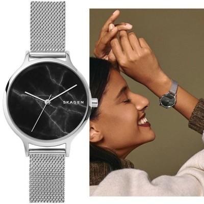 SKAGEN Anita silver Mesh アニタ グラナイト スカーゲン レディース 腕時計 skw2673