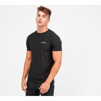 バーグハウス Berghaus メンズ Tシャツ トップス 24/7 tech t-shirt Jet Black