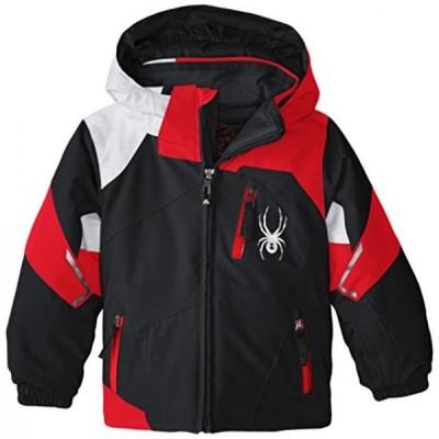 スノーボード&ウエア キッズファッション スポーツ遊具 Spyder Boys Mini Leader Jacket 正規輸入品