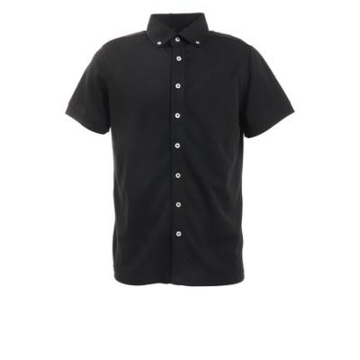 キャスコ(KASCO)ゴルフウエア メンズ フルボタンシャツ DPS1869B-BLKメンズ 半袖 オンライン価格