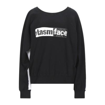 ファセッタズム FACETASM スウェットシャツ ブラック 00 コットン 100% / ポリウレタン スウェットシャツ