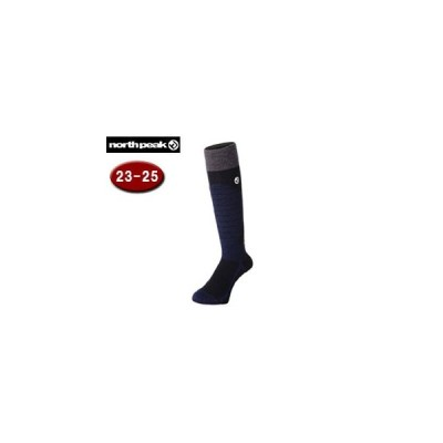 NORTH PEAK/ノースピーク  【在庫限り】MP-593 メリノウール ボードソックス 【23-25cm】 (NV)
