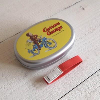 Curious George おさるのジョージ アルミランチ 370ml / 自転車
