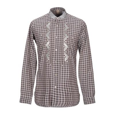 DNL シャツ ドーブグレー 39 コットン 100% シャツ