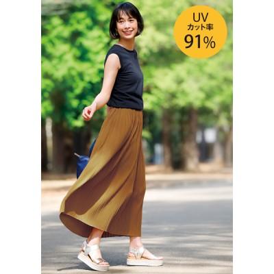 木陰みたいに涼しいプリーツスカート