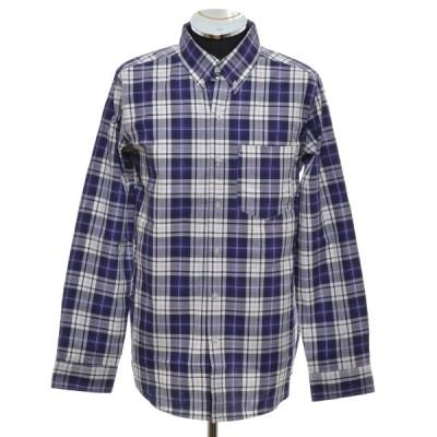 アーバンリサーチ URBAN RESEARCH チェックボタンダウンシャツ 長袖 サイズ38(M) 中古 古着