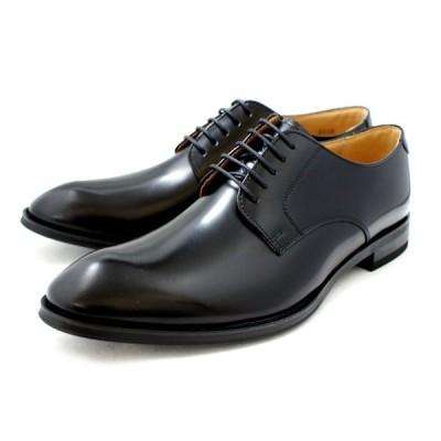 リーガル 靴 メンズ ビジネスシューズ プレーントゥ 本革 REGAL 810R 〔ブラック〕