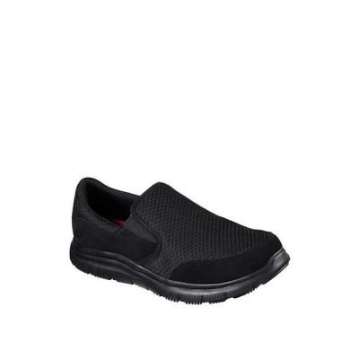 スケッチャーズ メンズ スニーカー シューズ Mcallen Casual Slip Resistant Work Shoes