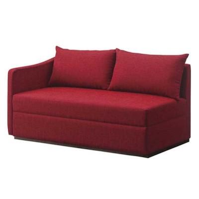 二人掛けロビー右肘 背クッション付 ソファー組合せ用 店舗業務用家具  degi31055f