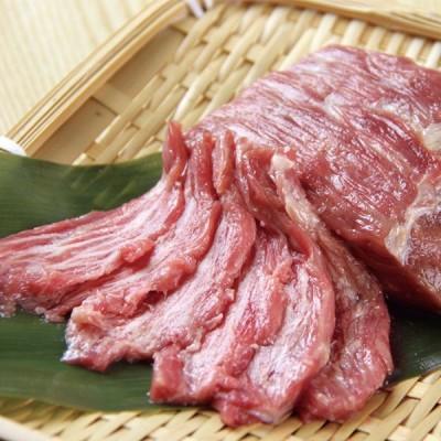 グルメ 冷凍食品 業務用 馬肉 (生食用馬脂注入馬刺し) 100g 11599 弁当 ばさし 馬肉 刺身