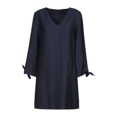 タラ ジャーモン TARA JARMON ミニワンピース&ドレス ダークブルー 36 レーヨン 100% ミニワンピース&ドレス