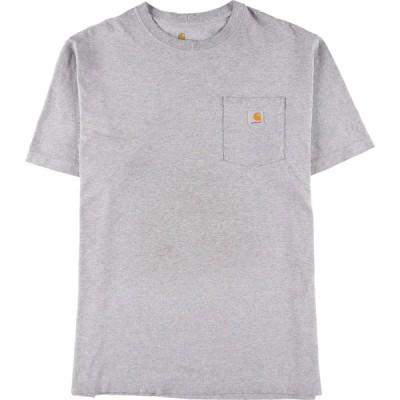 カーハート Carhartt ORIGINAL FIT ワンポイントロゴポケットTシャツ メンズXL /eaa151571