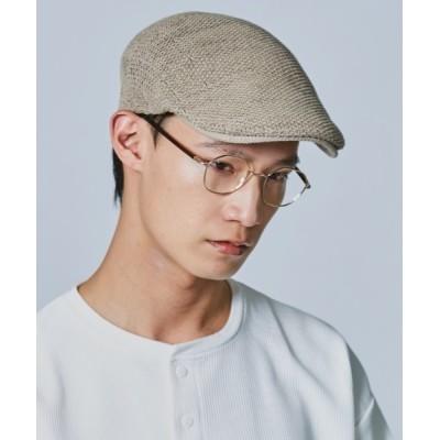 OVERRIDE / 【override】COTTON KNIT HUNTING Ag+ / 【オーバーライド】コットン ニット ハンチング MEN 帽子 > ハンチング/ベレー帽