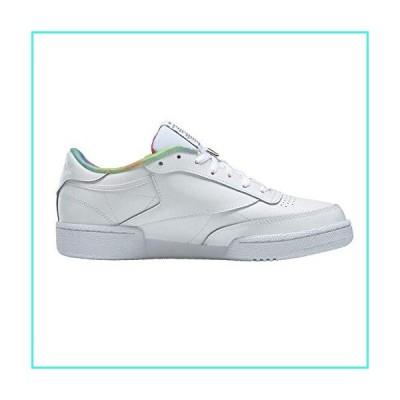 【新品】Reebok? Club C 85 Pride Shoes, White/Rainbow, 7 Women/5.5 Men(並行輸入品)