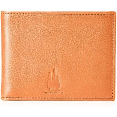 [トスカネーラ] メンズ バケッタレザー二つ折りミニ財布 640-VA レッド
