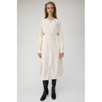 【マウジー/MOUSSY】 TUCK SLEEVE シャツドレス