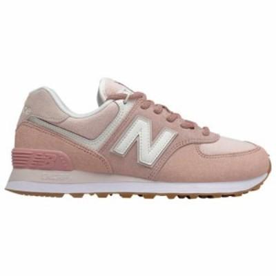 (取寄)ニューバランス レディース スニーカー シューズ 574 クラシック New Balance Women's Shoes 574 Classic Faded Cedar Smoke Salt