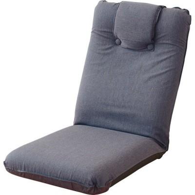 低反発座椅子(ヘッドレスト付)2個組 SS-1GY-2