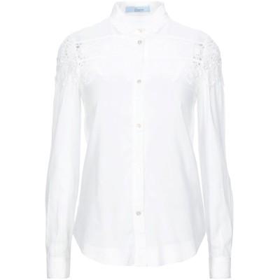 ブルマリン BLUMARINE シャツ ホワイト 38 コットン 100% シャツ