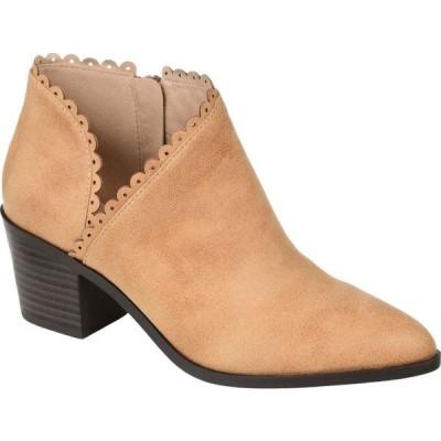 ジュルネ コレクション Journee Collection レディース ブーツ シューズ・靴 Tessa Bootie Tan