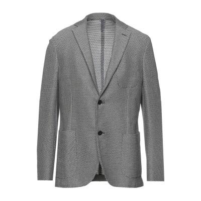 MONTEDORO テーラードジャケット ダークブルー 54 コットン 100% テーラードジャケット
