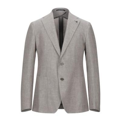 タリアトーレ TAGLIATORE テーラードジャケット ベージュ 50 コットン 66% / リネン 34% テーラードジャケット