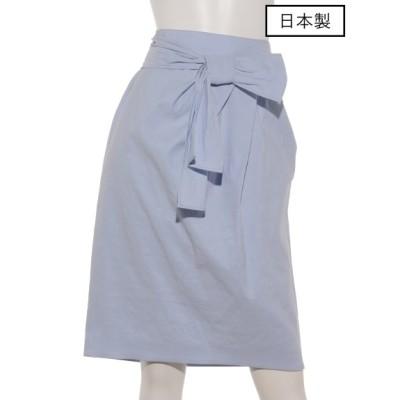 DUAL VIEW (デュアルヴュー) レディース 【日本製】スカート サックスブルー 40