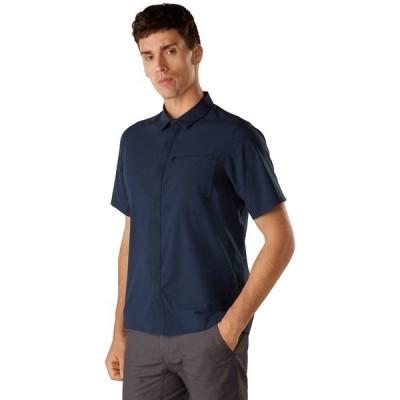 アークテリクス シャツ メンズ トップス Skyline Short-Sleeve Shirt - Men's Cobalt Moon