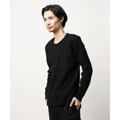 tシャツ Tシャツ HEAVY WAFFLE C/N LONG TEE/ヘビーワッフルクルーネックロングTシャツ
