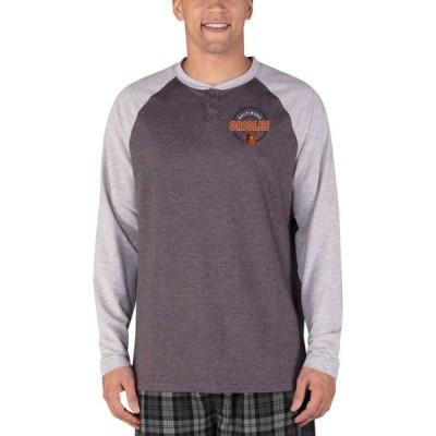 コンセプト スポーツ Concepts Sport メンズ 長袖Tシャツ ラグラン トップス Baltimore Orioles Raglan Long Sleeve T-Shirt