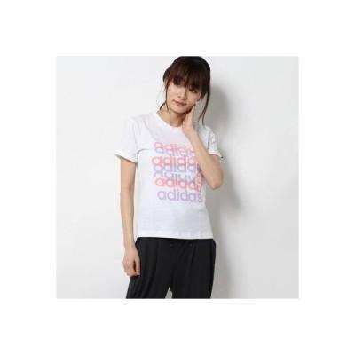 アディダス adidas レディース 半袖Tシャツ W グラフィックTシャツ FM6150