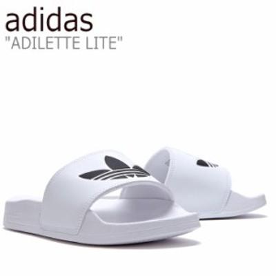 アディダス サンダル adidas メンズ レディース ADILETTE LITE アディレッタ ライト WHITE ホワイト FLADAS1U10 FU8297 シューズ