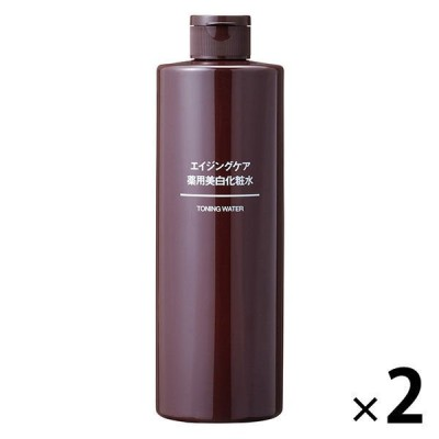 無印良品 エイジングケア薬用美白化粧水(大容量) 400mL 2個 品計画