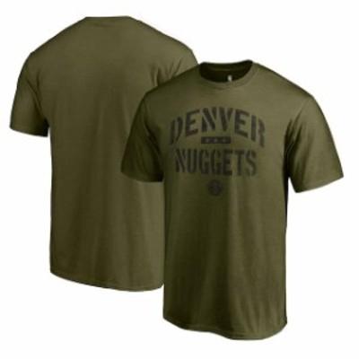 Fanatics Branded ファナティクス ブランド スポーツ用品  Fanatics Branded Denver Nuggets Green Jungle T-Shirt