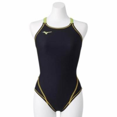 競泳練習用ミディアムカット ジュニア MIZUNO ミズノ スイム 競泳水着 エクサースーツ (N2MA8460)
