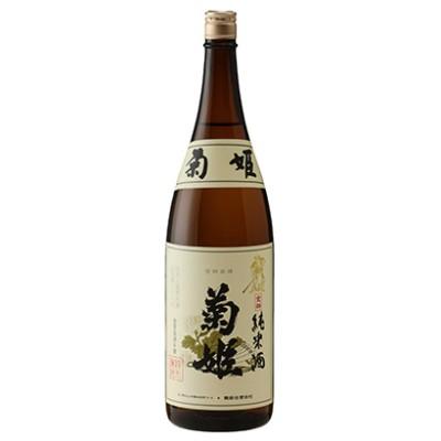 【日本酒】菊姫 純米菊姫 金劔 1.8l