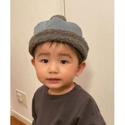 babybaby / 【LITTLE GRIN BUDDY/リトルグリンバディ】【ベビー】コーデュロイ×ボアワッチ/Baby Boa Cod Watch KIDS 帽子 > ニットキャップ/ビーニー