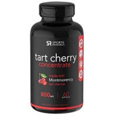 ●Sports Research Tart Cherry(タートチェリー) Concentrate 800mg  60粒