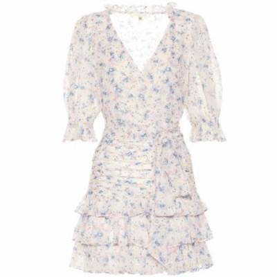 ラブシャックファンシー LoveShackFancy レディース ワンピース ワンピース・ドレス Hanna floral silk minidress pearl river