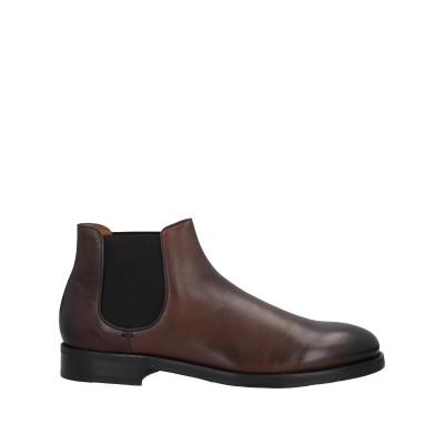 デュカルス DOUCAL'S ショートブーツ ココア 44 革 / 指定外繊維(その他伸縮性繊維) ショートブーツ